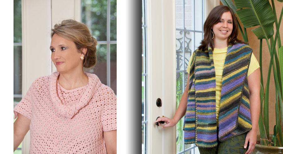 Figure Flattering Plus-Size Fashions Crochet Book