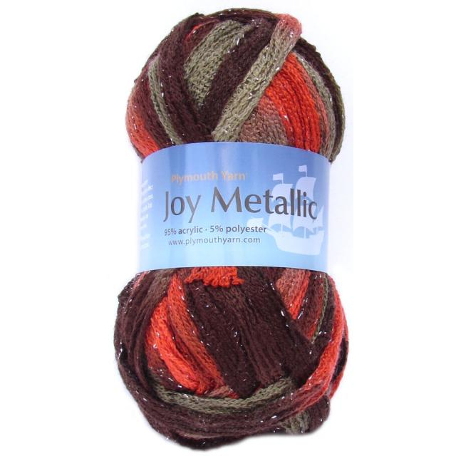 Joy Metallic - Ruffle Yarn - Item 807 | Plymouth Yarn